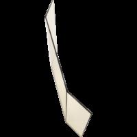 szkło kominkowe Formatka pryzma Amelia