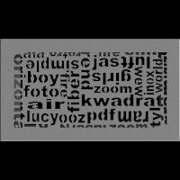 Kratka ABC granito 17x30