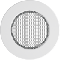 Kratka okrągła biała fi 100