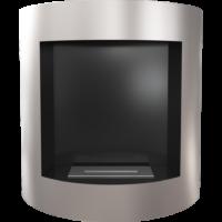 Biokominek wiszący AF srebrny z certyfikatem TÜV