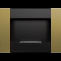 Biokominek wiszący BRAVO 2 złoto galwaniczne z certyfikatem TÜV