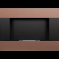 Biokominek wiszący BRAVO miedź galwaniczna z certyfikatem TÜV