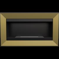 Biokominek wiszący CHARLIE złoto galwaniczne z certyfikatem TÜV