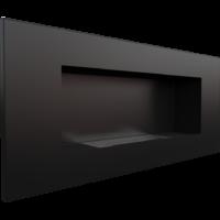 Biokominek wiszący DELTA 2 czarny z certyfikatem TÜV