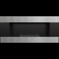 Biokominek wiszący DELTA 2 czarny HORIZONTAL z certyfikatem TÜV