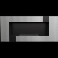 Biokominek wiszący DELTA 2 czarny QUBE z certyfikatem TÜV