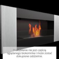 Biokominek wiszący DELTA 2 czarny VERTICAL
