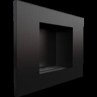 Biokominek wiszący QUAT czarny z certyfikatem TÜV