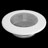kratki okrągłe Kratka okrągła biała fi 100
