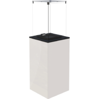 Ogrzewacze ogrodowe PATIO MINI M panel biały