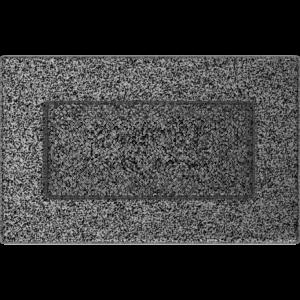 Kratki prostokątne Kratka czarno-srebrna 11x17