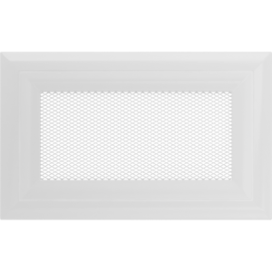 Kratki prostokątne Kratka Oskar biała 11x17