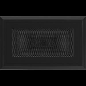 Kratki prostokątne Kratka Oskar czarna 11x17
