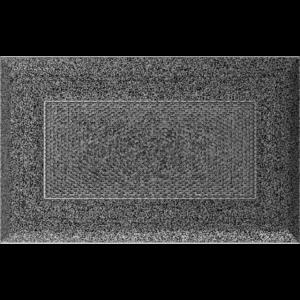Kratki prostokątne Kratka Oskar czarno-srebrna 11x17