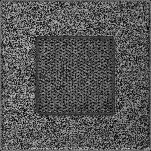 Kratki prostokątne Kratka czarno-srebrna 11x11