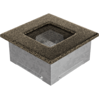 Kratki prostokątne Kratka czarno-złota 11x11