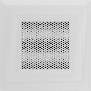 Kratki prostokątne Kratka Oskar biała 11x11