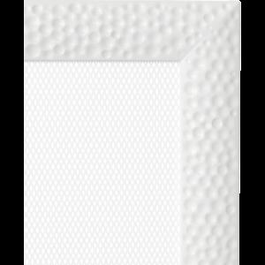 Kratki prostokątne Kratka Venus biała 22x37
