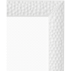 Kratki prostokątne Kratka Venus biała 22x22