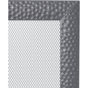 Kratki prostokątne Kratka Venus grafitowa 22x30