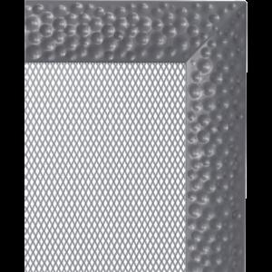 Kratki prostokątne Kratka Venus grafitowa 22x45