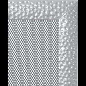 Kratki prostokątne Kratka Venus niklowana 17x37