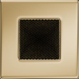 Kratki prostokątne Kratka pozłacana 11x11