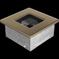Kratki prostokątne Kratka złoto galwaniczne 11x11