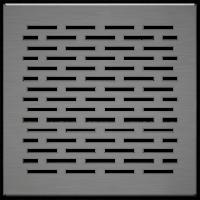 Kratki podłogowe Kratka FLOOR szlifowana 17x17