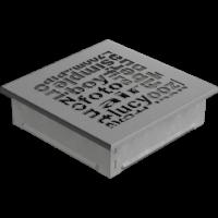 kratki ozdobne Kratka ABC granito 17x17