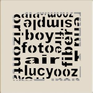 kratki ozdobne Kratka ABC kremowa 17x17