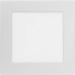 Kratki prostokątne Kratka biała 17x17