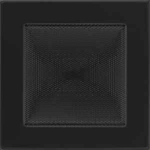 Kratki prostokątne Kratka czarna 17x17