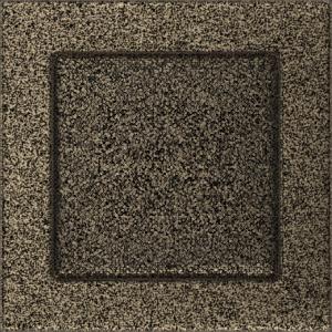 Kratki prostokątne Kratka czarno-złota 17x17