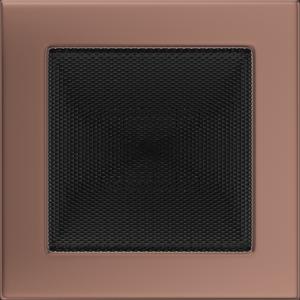Kratki prostokątne Kratka miedź galwaniczna 17x17