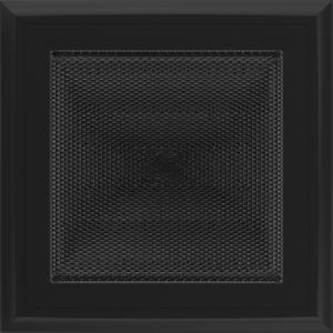 Kratki prostokątne Kratka Oskar czarna 17x17