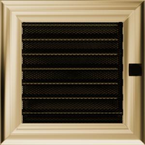 Kratki prostokątne Kratka Oskar z żaluzją 17x17