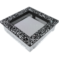 kratki ozdobne Kratka Venus z kryształami Swarovski czarno-srebrna 17x17