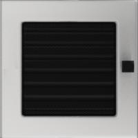 Kratki prostokątne Kratka szlifowana z żaluzją 17x17