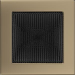 Kratki prostokątne Kratka złoto galwaniczne 17x17