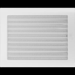 Kratki prostokątne Kratka biała z żaluzją 22x30