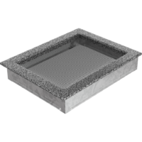 Kratki prostokątne Kratka czarno-srebrna 22x30