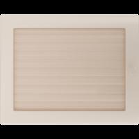Kratki prostokątne Kratka kremowa z żaluzją 22x30