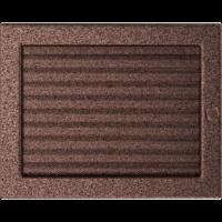 Kratki prostokątne Kratka miedziana z żaluzją 22x30