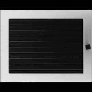 Kratki prostokątne Kratka szlifowana z żaluzją 22x30