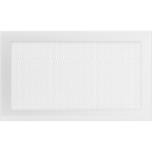 Kratki prostokątne Kratka biała 22x37