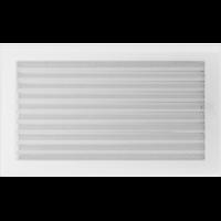 Kratki prostokątne Kratka biała z żaluzją 22x37