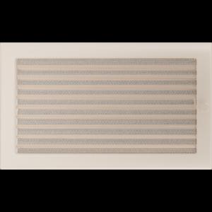 Kratki prostokątne Kratka kremowa z żaluzją 22x37