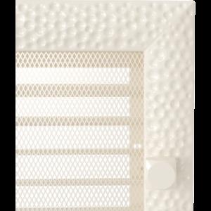 Kratki prostokątne Kratka Venus kremowa z żaluzją 22x45