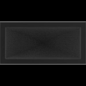 Kratki prostokątne Kratka czarna 22x45